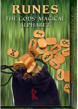 RUNES THE GODS MAGICAL ALPHABET ( LIBRO + CARTAS )