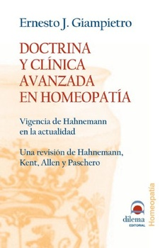 DOCTRINA Y CLINICA AVANZADA EN HOMEOPATIA