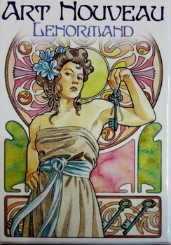 ART NOUVEAU LENORMAND (LIBRO + CARTAS) ORACULO