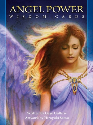ANGEL POWER WISDOM CARDS USGAMES ( INGLES)