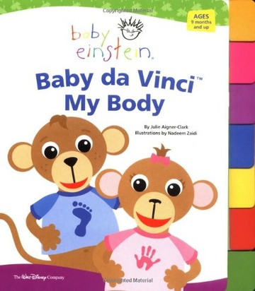 BABY DA VINCY: MY BODY - Disney`s Baby Einstein #