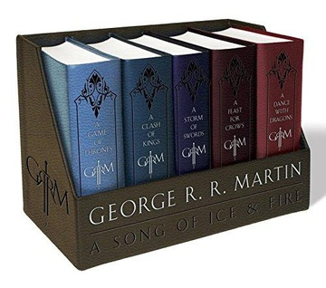 A Song of Ice and Fire (1-5) Leather Box