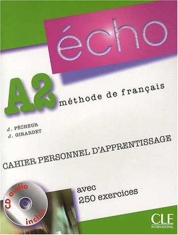 ECHO A2 CAHIER D APPRENTISSAGE +CD