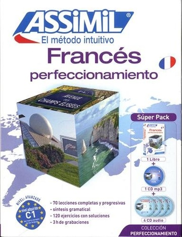 Francés Perfeccionamiento 2015- Superpack (1 libro + 1 CD mp3 + 4 CD audio)