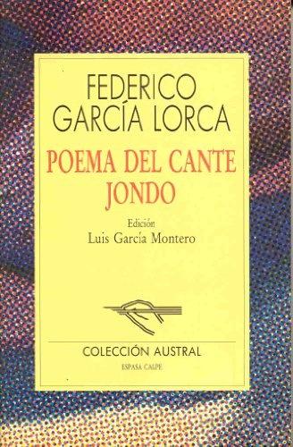 Poema Del Cante Jondo Las Mil Y Una Hojas Libros