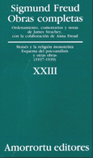 O.COMPLETAS S.FREUD:VOL.23
