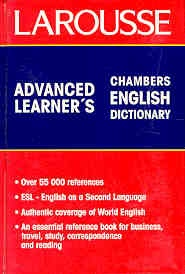 Advanced Learner's Chambers English Dictionary