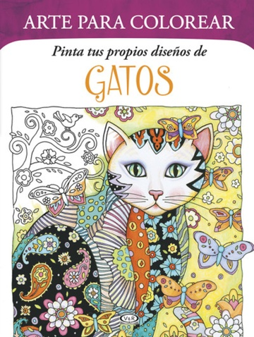 Arte para colorear: Gatos - Las Mil y Una Hojas Libros
