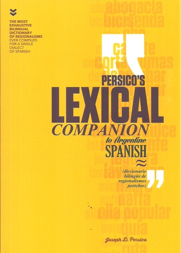 PERSICOS LEXICAL COMPANION TO ARGENTINE SPANISH
