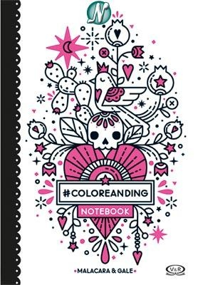 COLOREANDING NOTEBOOK TD