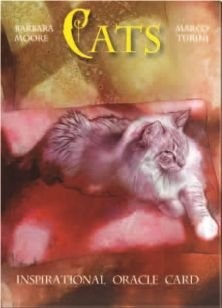 CATS INSPIRATIONAL ORACLE CARDS (TAROT, LIBRO + CARTAS)
