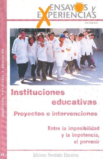 Instituciones educativas