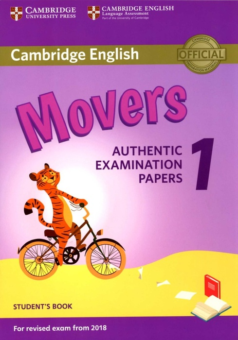 Cambridge English Movers 1 for Revised Exam from 2018 Student's Book (Nuevo)