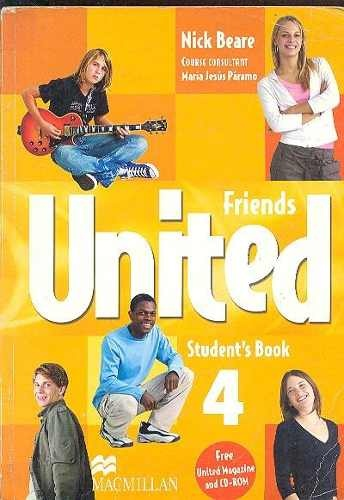 FRIENDS UNITED SB 4 (WITH MAGAZINE AND CD ROM) (Nuevo)